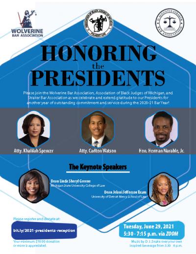 WBA-ABJM-STRAKER – Presidents Event Flyer